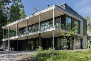 Впечатляваща и практична дървена къща в Хелзинки
